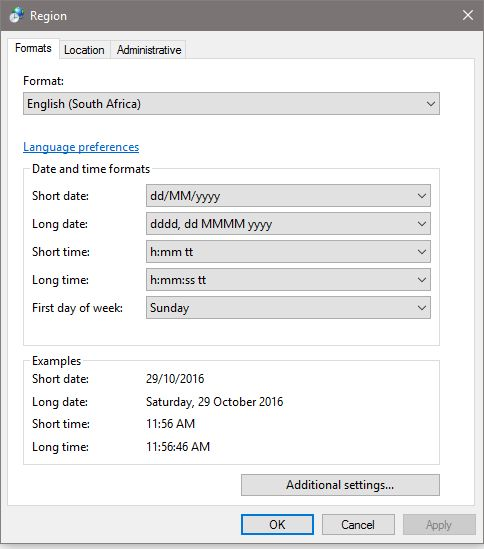 Excel: Date and Time Format