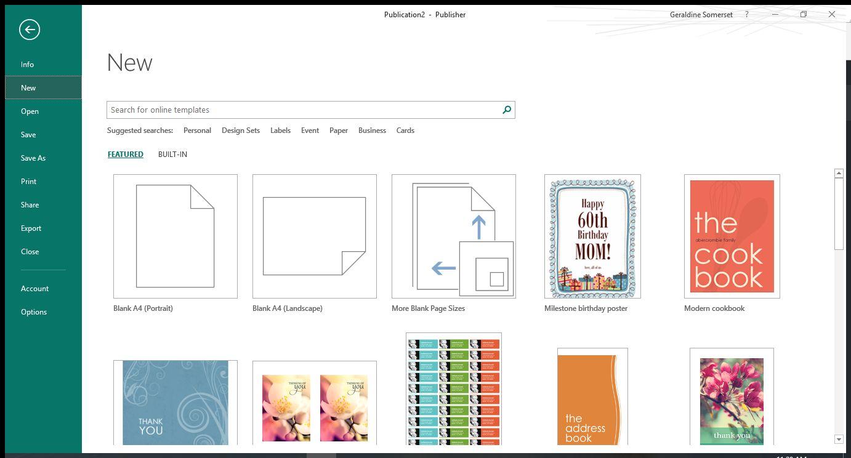 Desktop Publishing vs Microsoft Publisher 2016